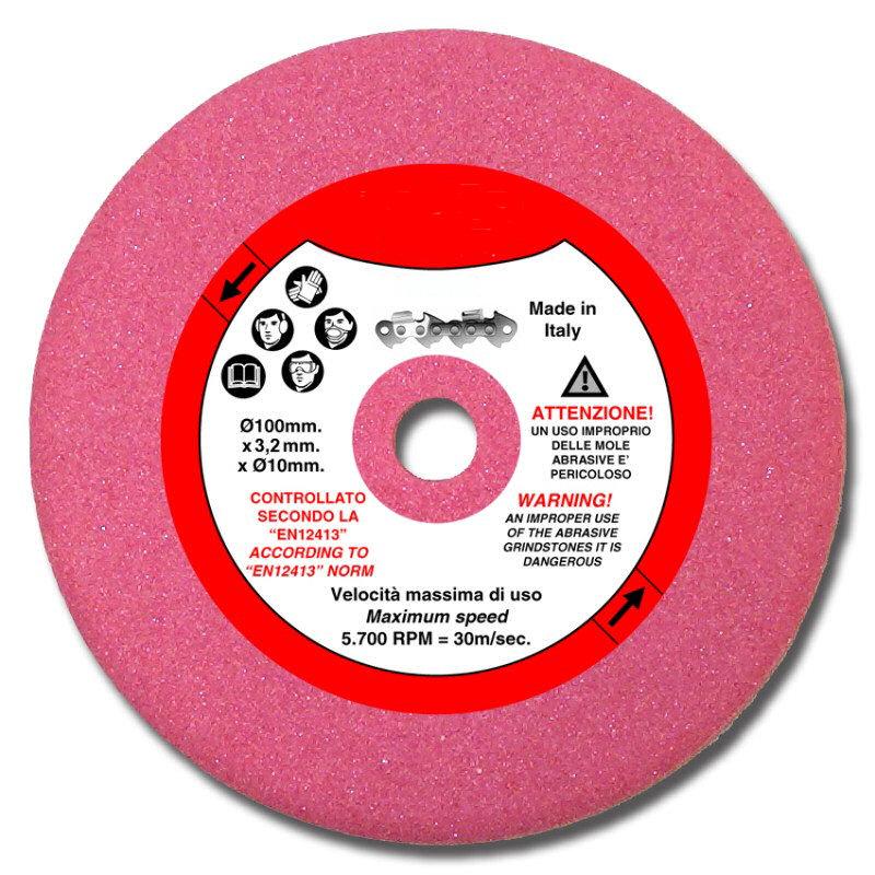 disque affûtage chaîne tronçonneuse 4mm